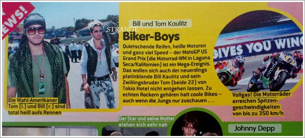 [scan DE] Bravo #33 : Biker Boys (09/08/12) 3108233067_1_3_67G6GYTs