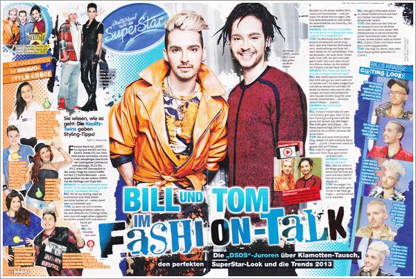 [scan DE+vidéo] BRAVO n° 4 Bill et Tom en Fashion-Talk 3138286552_1_2_pMWMU5y4